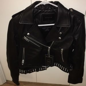 Blank NYC Leather Jacket